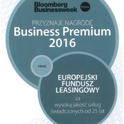 EFL z tytułem Business Premium 2016