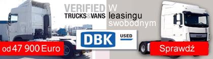 Ciągnik siodłowy DAF w leasingu swobodnym