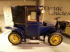dawny pojazd elektryczny