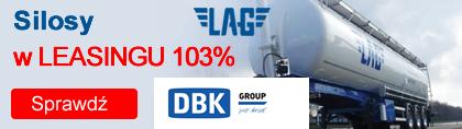 Leasing 103% na silosy LAG