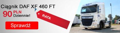 Ciągnik siodłowy DAF w pożyczce