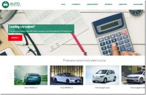 autoelektryczne.pl - nowy portal o finansowaniu aut elektrycznych