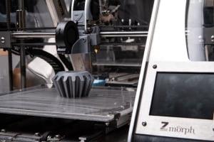 wydruk z drukarki 3D