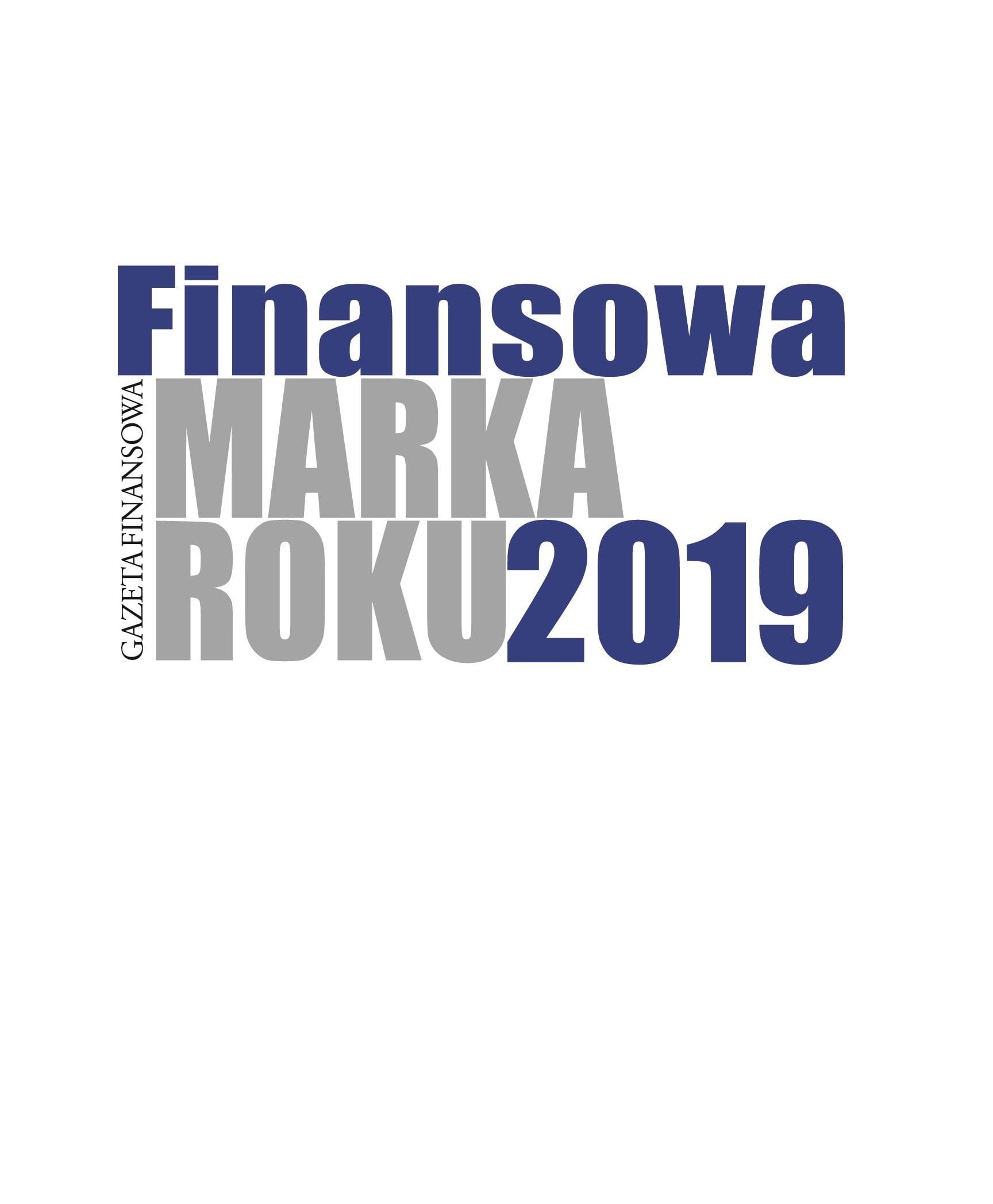 Finansowa Marka Roku 2019