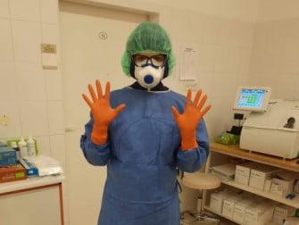 Jolanta Michalik, prowadzi jednoosobową działalność pielęgniarską