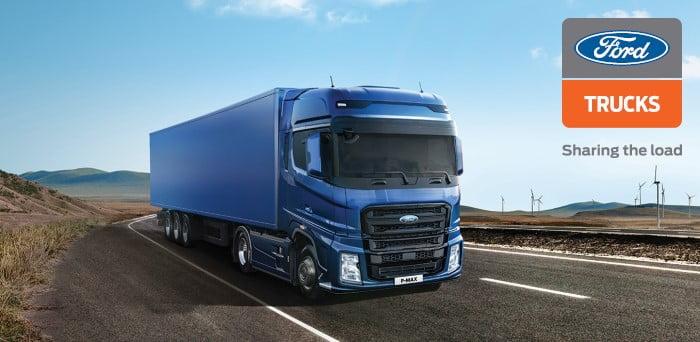 Leasing 3 x 500 € na nowy ciągnik siodłowy Ford F-MAX