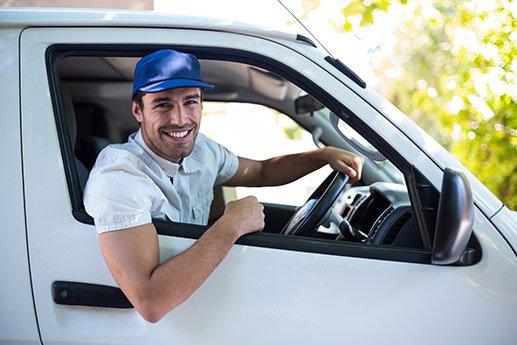 dla kogo leasing samochodu dostawczego - kierowca