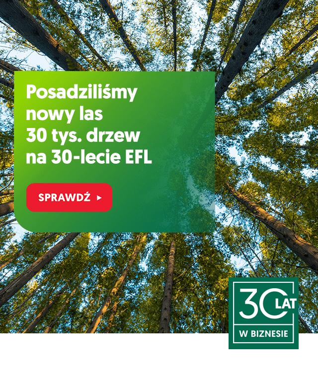 posadziliśmy 30 tys drzew na 30-lecie EFL - slider